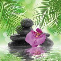 Картичка с орхидея