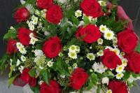 Любов и червени рози