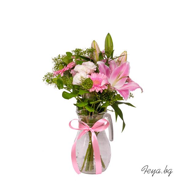 Кана с цветя