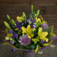 Bouquet with Brassica
