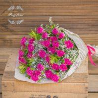 Букет от мини рози