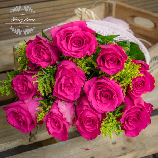 Цикламени рози 11