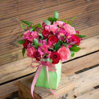 Букет микс рози