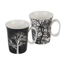 Порцеланови чаши дърво