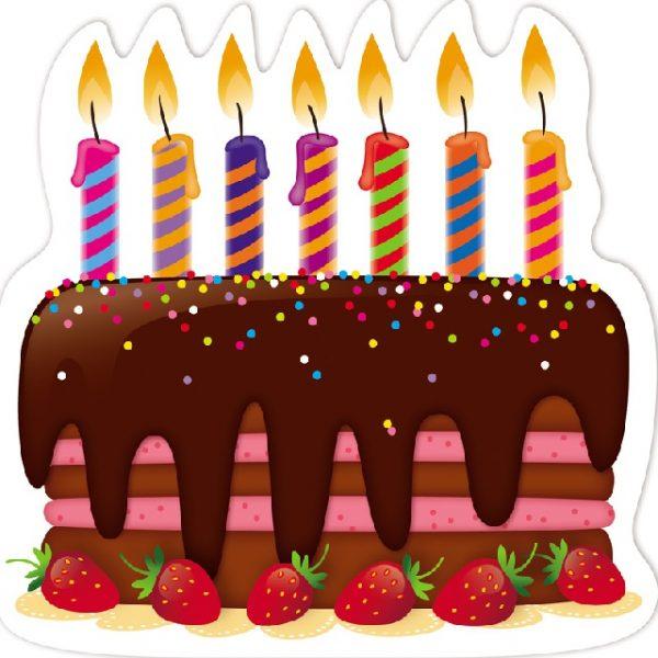 Торта със свещи