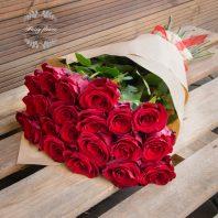 21 червени рози