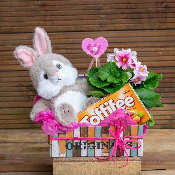 Подарък със зайче